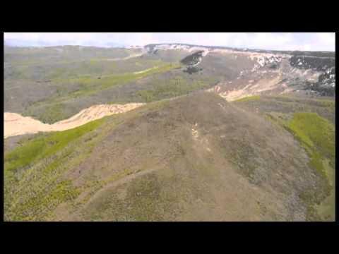Raw- Aerials Show Colorado Mudslide News Video