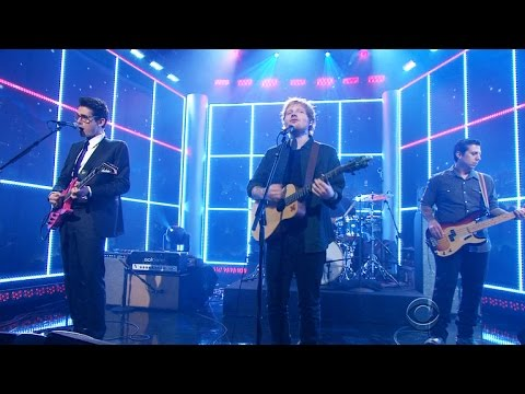 The Late Late Show - Ed Sheeran Performs