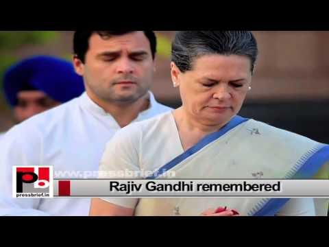 Nation remembers Rajiv Gandhi on his 70th birth anniversary