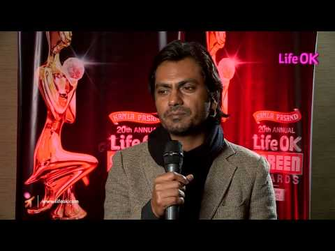 Moments Of Joy - Nawazuddin Siddiqui - Life OK Screen Award 2014