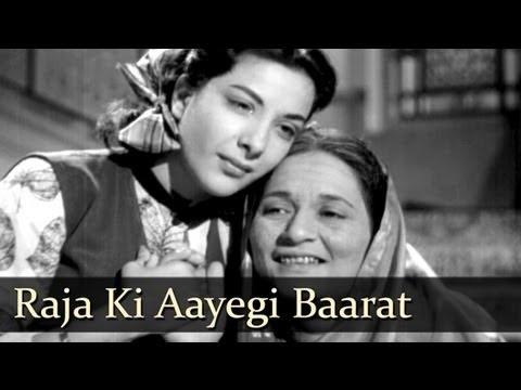 Raja Ki Aayegi Baraat - Raj Kapoor - Nargis - Aah - Lata Mangeshkar - Evergreen Hindi Songs Superhit Song