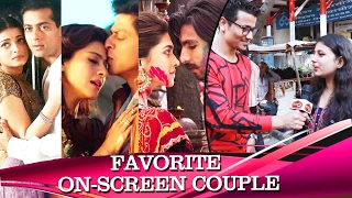 Public REACTS To Favorite On-Screen Couple - Valentines Day Special 2017
