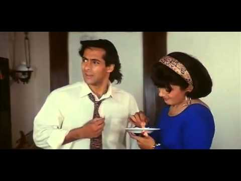 Aamir adds medicine on Salman's food - Andaz Apna Apna - Bollywood Movie Comedy Scene