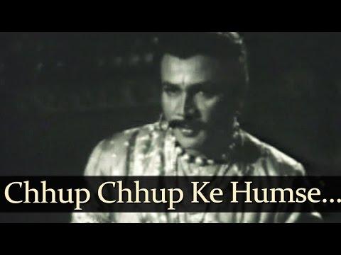 Chhup Chhup Ke Hum Se - Samrat Prithviraj Chauhan Songs - Jairaj - Anita Guha - Lata Mangeshkar - Bollywood Old Song