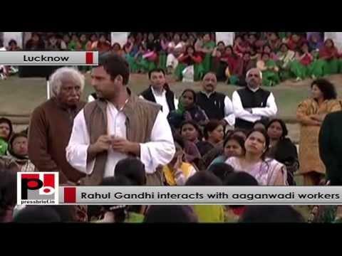 Rahul Gandhi- I  realize the value of  women empowerment