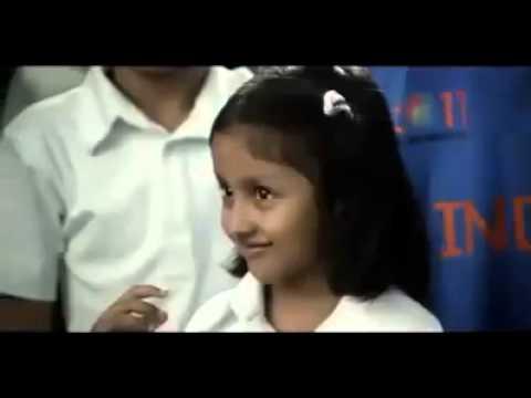 ICC World Cup 2011 - ESPN Star Sports - Children wishing Sachin Tendulkar