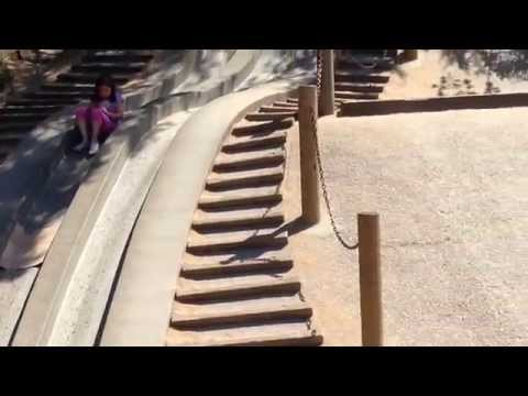 Crazy kids playing on a Crazy Slide - Funny Baby Videos