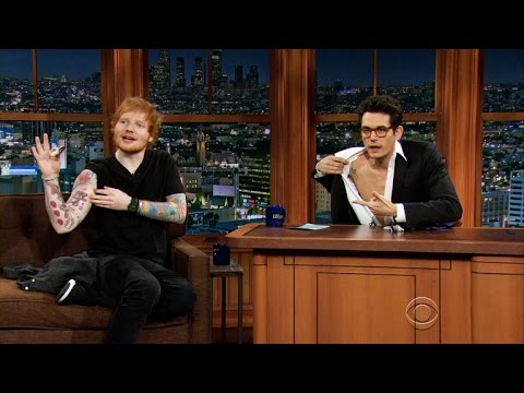 The Late Late Show - Getting Tattoos