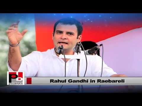 Rahul Gandhi - UP hasn't provide any benefit to minority and dalit