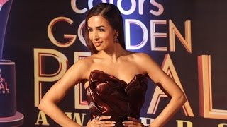 Gorgeous Malaika Arora At Colors Golden Petal Awards 2017