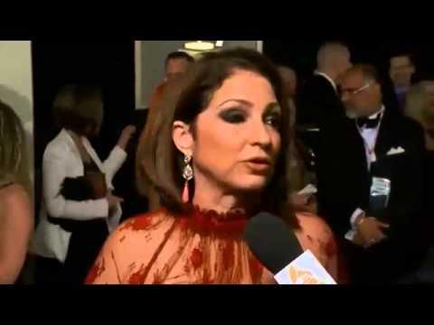 Grammy Awards 2014 Full Show - Gloria Estefan Red Carpet interview Grammy 2014 Awards