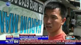 Satpol PP Kota Padang Razia Warung Makan yang Buka Siang