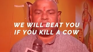 'We will beat you if you kill a cow' - Raja Singh, BJP MLA