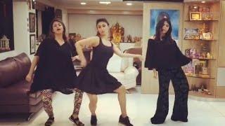 BEAT PE BOOTY Challenge - Mouni Roy, Divyanka Tripathi, Ekta Kapoor