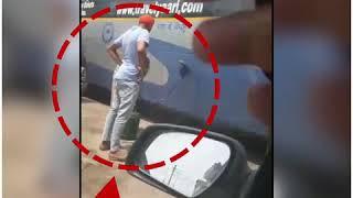 अपनी ही बस से डीजल चोरी करता PRTC ड्राईवर कैमरे में कैद