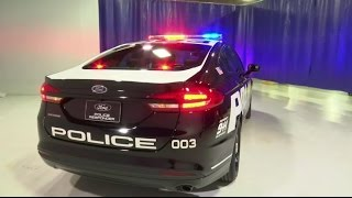 Ford to debut pursuit-rated hybrid police car