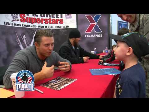 The Miz can't win over a young WWE fan: 2013 Tribute to The Troops - WWE Wrestling Video