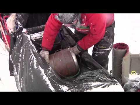 'Mushing Mortician' Explains Iditarod Sled Gear News Video