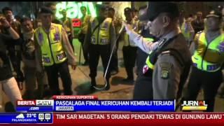 Usai Laga Final, Suporter dan Polisi Bentrok