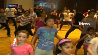 Foreign Woman Joins Charity Zumba Dance Show | Metro Colors | iNews