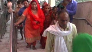 प्रदेश में कंजक पूजन की धूम, परिवार संग मनसा देवी पहुंची कविता जैन
