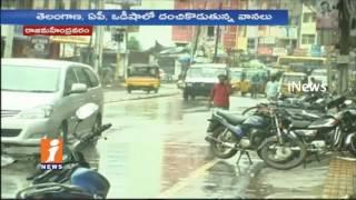 Heavy Rains In Rajahmundry   Godavari River Water Level Rises   iNews