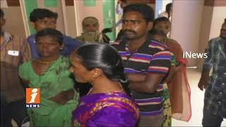 Khammam Collector Lokesh Kumar Inquiry on Khammam Hospital Pregnant Women Incident | iNews