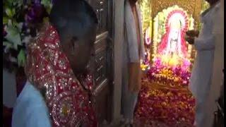 माता मनसा देवी के दर पर झुके कंवरपाल, मांगी प्रदेश की खुशहाली की दुआ