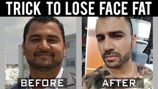 Best Tips to LOSE FACE FAT! (Hindi / Punjabi)