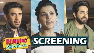 Running Shaadi.com Special Screening | Full HD Video | Taapsee Pannu, Amit Sadh, Ayushmann Khurrana