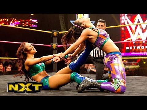 Bayley vs. Sasha Banks- WWE NXT, Oct. 23, 2014 - WWE Wrestling Video