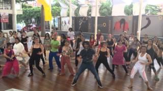 Saree Ke Fall Sa (Devesh Mirchandani) Workshop in Colombia