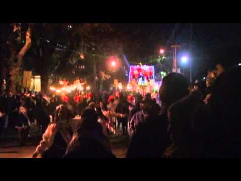 Raw- Big Mardi Gras Crowds Expected Despite Cold News Video