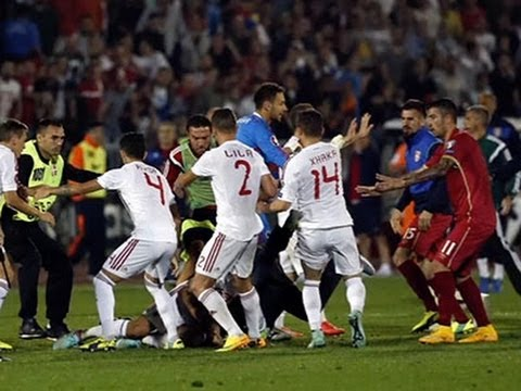 Serbia Accuses Albania of Provocation After Game News Video