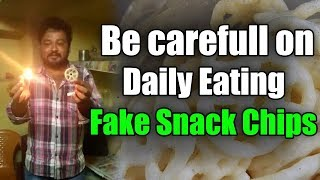 How to Find Fake Snack Chips(Wheel Chips - DIY) | Fake Snack Chips or Real Snack Chips|Top Telugu TV