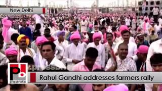At Kisan Mazdoor Samman rally in Delhi, Congress VP Rahul Gandhi slams Modi, Centre Politics Video