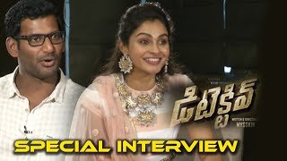 DETECTIVE Team Vishal and Andrea interview | Detective Telugu Movie 2017 | Telugu Latest News