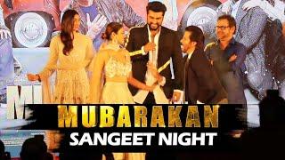 Mubarakan Sangeet Night | GRAND ENTRY | Anil Kapoor, Arjun Kapoor, Ileana, Athiya Shetty