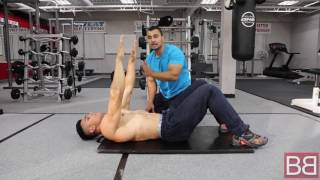 How to- Do CURL UPS for SIX PACK ABS! (Hindi / Punjabi)