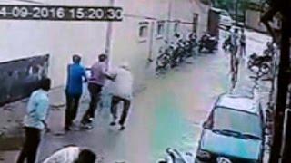 सीसीटीवी में कैद हुई गोली मारने की घटना