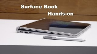Microsoft Surface Book Hands-on