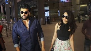Arjun Kapoor & Shraddha Kapoor SPOTTED At Airport, Returns From Half Girlfriend Promotion