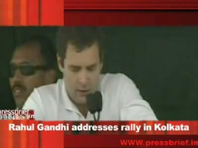 Rahul Gandhi in Kolkata part 2