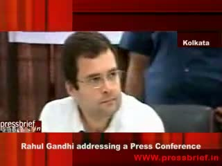Rahul Gandhi in Kolkata 25 April 09