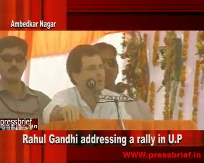 Rahul Gandhi in Ambedkar nagar 14th April 2010 Part 2nd