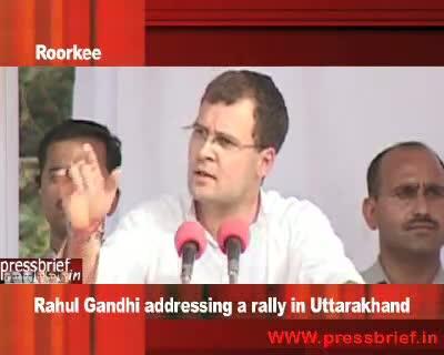 Rahul Gandhi in Roorkee Part 02