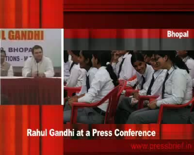 Rahul Gandhi in Bhopal (Part 3), 19th January 2010