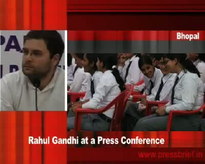 Rahul Gandhi in Bhopal (Part 2), 19th January 2010