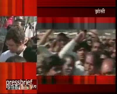 Rahul Gandhi in Bundelkhand