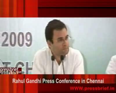 Rahul Gandhi in Chennai (02),10 Sep 2009